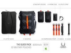 ember equipment modular urban pack kickstarter vysual