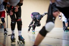 Jammer Marla Killmiss Warsaw Hellcats Roller Girls  Scrimmage with Riot Rocketz and Roller Derby Erfurt https://www.facebook.com/UrbanSoulPhoto?fref=ts photo by