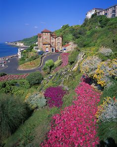 Ventnor on the Isle of Wight, UK