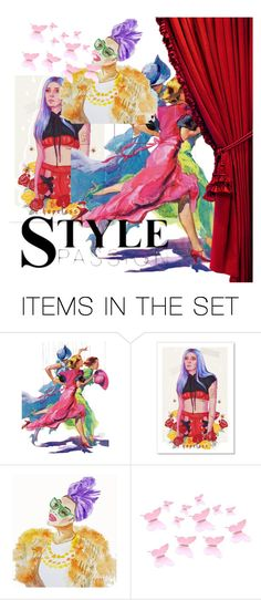 """""""💃🏻"""" by creandoestilos ❤ liked on Polyvore featuring art"""