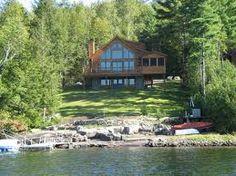luxury log cabin home
