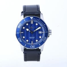 Dream Watches, Trident, 316l Stainless Steel, Wrist Watches, Seiko, Diving, Color Black, Leather, Accessories