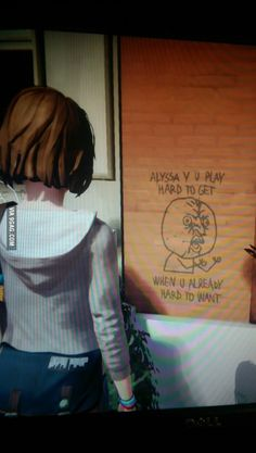 So I was playing Life Is Strange...