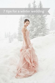 7 tips for getting the best photographs for your winter wedding