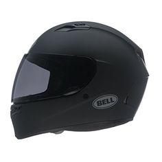 Bell Solid Adult Qualifier Street Bike Racing Motorcycle Helmet – Matte Black