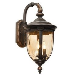 """Bellagio™ Collection 20 1/2"""" High Outdoor Wall Light, Style # 90534  Sale $89.95 + Free Shipping*   Antique style outdoor wall light from John Timberland™ lighting collection.  Uses three 40 watt candelabra bulbs (not included). 20 1/2"""" h, 9 1/2"""" w.  Extends 12 3/4"""" from wall. Backplate is 8 1/2"""" high, 5"""" wide. Mounting point to top of fixture is 9""""."""