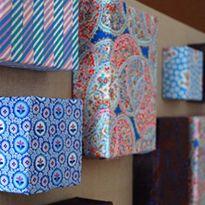 Jennifer's Fabric Focus ~ No-Sew Fabric Wall Art