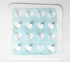 Anniversary Heart Art – Kori Clark  This watercolor 3D design creates the perfect piece of art to celebrate your love for years to come! You can leave the white heart blank or add your initials and wedding date!  DIY, created with a Cricut Explore, creative cards, crafting, crafts