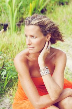 Stylish living: India Hicks, the daughter of designer David Nightingale Hicks and Lady Pamela Mountbatten, inherited her parents' good taste and royal connections.
