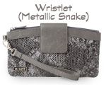 Metallic Snake Wristlet  https://janna.miche.com
