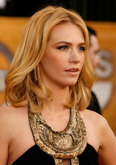 January Jones Hair || Celebrity Hairstyles #Hair #Hairstyles #Haircuts