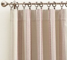 French Ticking Stripe Curtain