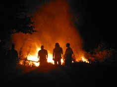 Photo By angelindaskyz - The Ranch-bonfire