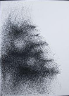 S/ título, grafite sobre papel, 70x60