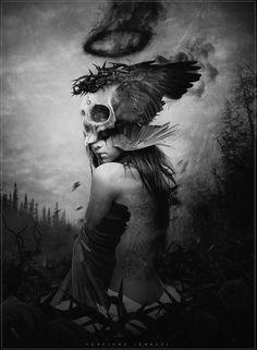 Dark Goddess by StreetX222. S)