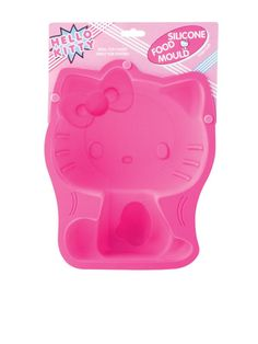 Hello Kitty Silicone Cake Mould (28 cm) - Large Individual