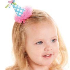 Birthday Hat Hair Clip