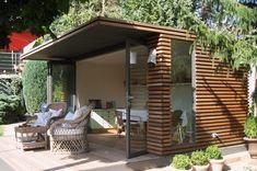 Stylisches Gartenhaus