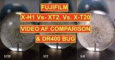 Fujifilm X-H1 Video Autofocus Issue at DR400  Fujifilm X-H1 AF Video Issue  As you know Fujifilm cameras offer the standard DR100 but also extended dynamic range settings DR200 and DR400.  It seems that when using DR400 there is an issue with the autofocus on the Fujifilm X-H1. Our fantastic X-H1 facebook group is testing and discussing this issue here.  There are two videos Id like to highlight that show this issue caused verly likely by the reduced contrast at extended DR settings…