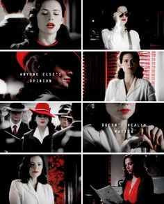 Agent Carter: I know my v a l u e