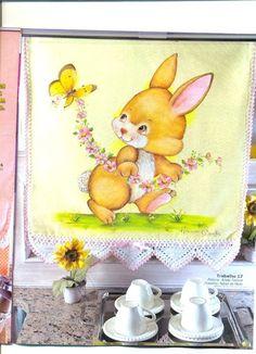 Pintura em tecido pascoa