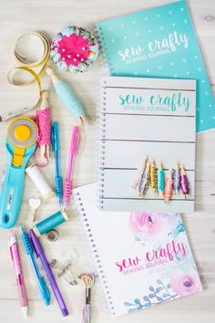 Sew Crafty Sewing Journal - Live it . Sewing Art, Love Sewing, Sewing For Kids, Hand Sewing, Sewing Hacks, Sewing Projects, Sewing Tips, Sewing Machine Accessories, Magic Box
