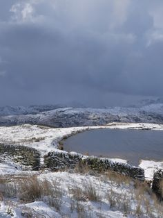 Alcock Tarn, above Grasmere, Cumbria, England (photo: H. Little Island, Being In The World, Cumbria, Lake District, Places Ive Been, Britain, England, Seasons, Mountains