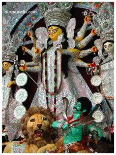 Bagbazar Sarbojanin Durga Puja 2013 pictures.