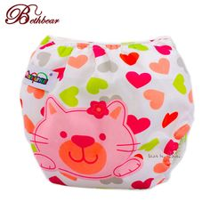 62c91796e02e Reusable baby infant nappy cloth diapers soft covers size adjustable  training pants cut pattern   worth