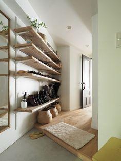 暮らしにリズムが加わる玄関のつくりかた 実例に学ぶ玄関リノベのケーススタディ10選 | 東京のリノベーション会社・空間社の事例