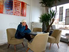 Atelier   …abstrakte Kunst, expressive Malerei