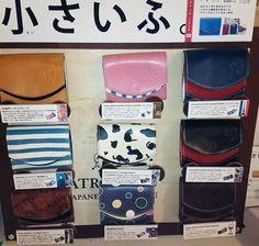 山口井筒屋 営業推進スタッフ @yama_izutsuya 父の日のプレゼントはお決まりですか?日曜日まで今日を入れてあと4日!今日は『小さいふ』のご紹介です!一階エスカレーター特設会場にて展開しています!