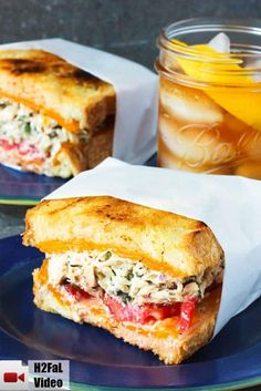 This Amazing Tuna Melt recipe is one for the record books. It takes this iconic … This Amazing Tuna Melt recipe is one for the record books. It takes this iconic sandwich over the top & is incredible in flavor & texture. Sandwich Bar, Tuna Melt Sandwich, Tuna Melts, Soup And Sandwich, Sandwich Ideas, Recipe For Sandwich, Tuna Salad Sandwiches, Tuna Sandwich Recipes, Sandwich Spread