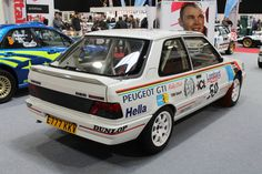 Peugeot 309 GTI Works Rally Car (E 777 KKV)