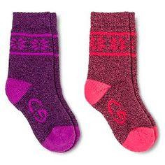 C9 Champion® Girls' Athletic Socks Multi-Colored - Multi-Colored
