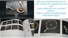 """Mi primera publicación!!! Fue finalista en el concurso SAC 2013 de arcilla de plata en Japón, """"Siempre Viva"""" hecha por Tania Marzuca Rivero"""