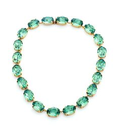 Green necklace / We Heart It