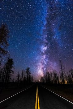 ~~Highway to Heaven | Milky Way, on the road to Bryce National Park, Utah | by…