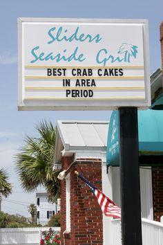 mmm amelia island, florida! great crab cakes