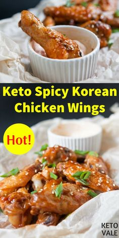 Korean Fried Chicken or jokingly KFC is one of the most popular dish in South Korea that literally most of people in Korea know how to cook. To make this dish keto friendly, there are a few things we need to change. Ketogenic Diet Meal Plan, Diet Meal Plans, Ketogenic Recipes, Low Carb Recipes, Healthy Recipes, Spicy Korean Chicken, Korean Chicken Wings, Healthy Work Snacks, Healthy Eating