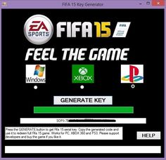 fifa 15 product key download
