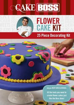 Cake Boss Decorating Kit : 1000+ images about Cake Boss Cake Kits on Pinterest Cake ...