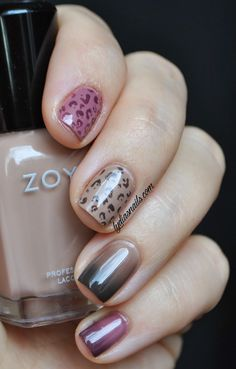Ombré and animal print LOVE LOVE LOVE!