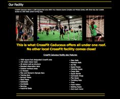 CrossFit Caduceus || Web Design