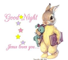 good night glitter graphics | Glitter Text » Greetings » Good Night - Jesus Loves You -...