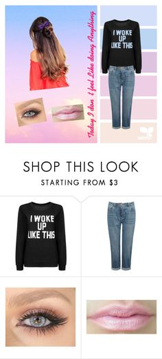 """""""Today I don't feel Like doing Anything"""" by fash-bash-11 ❤ liked on Polyvore featuring beauty, Lazy Days, M&Co and ZuZu Kim"""
