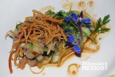 Ceviche of red pata de mula from Deckman's en El Mogor, chef Drew Deckman.