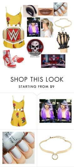 """""""Perry- special guest on stone cold podcast"""" by princess-nikki123 ❤ liked on Polyvore featuring Topshop and Alexis Bittar"""