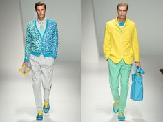 Running shoes take over the fashion shows, with suits! http://www.2dmblogazine.it/2012/08/running-shoes-from-running-lane-to-runway/