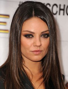 How To Make Your Eyes Look (Almost) As Hot as Mila Kunis' With Just 4 Products: Girls in the Beauty Department Sexy Eye Makeup, Love Makeup, Beauty Makeup, Makeup Looks, Hair Makeup, Hair Beauty, Makeup Ideas, Dramatic Makeup, Makeup Shop